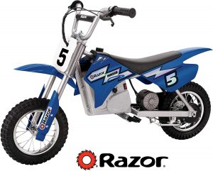 Razor MX350 (blue), best for kids/off-roading