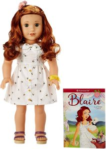 American Girl - Blaire Wilson - Blaire Doll & Book