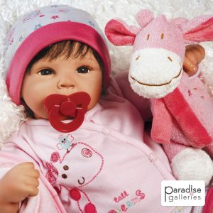 19-inch weighted Baby Doll, best for 3+ years of Age