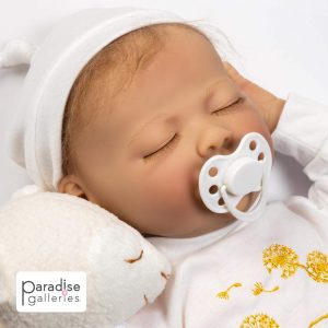 21-inch Sleeping Newborn Girl, best for children aged 14 and up