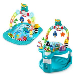 2-in-1 Lights/Sea Activity, best luxurious baby jumper