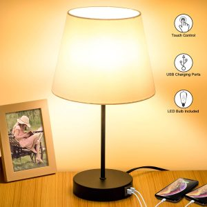 Touch Control Table Lamp, best for reading