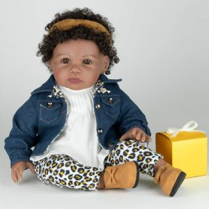 21-inch African/American Black Girl Doll, best for children aged 14 and up