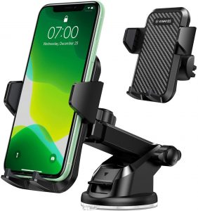VANMASS Phone Mount, best for reliabilityfirm holding of your cell phone