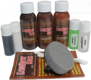 Leather Max Complete Leather Refinish, Restore, Recolor & Repair Kit Now with 3 Color Shades to Blend