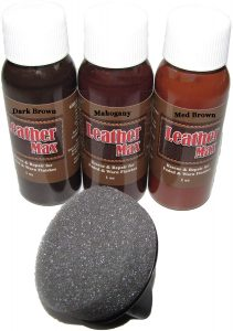 Leather Max Quick Blend Refinish and Repair Kit, Restore Couches, Recolor Furniture & Repair Car Seats, Jackets, Sofa, Boots