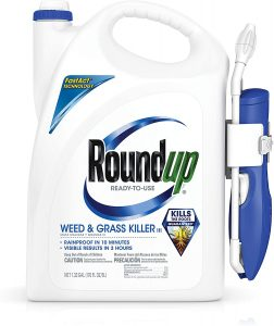 RoundUp Ready-to-Use Weed & Grass Killer III with Comfort Wand, 1.33 GAL
